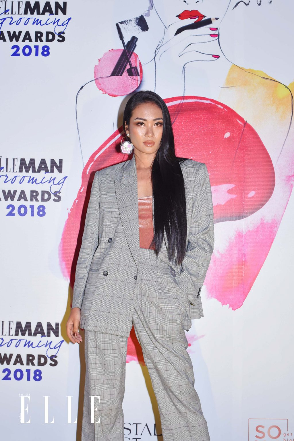 ELLE Beauty Awards 2018 trang điểm ấn tượng 7