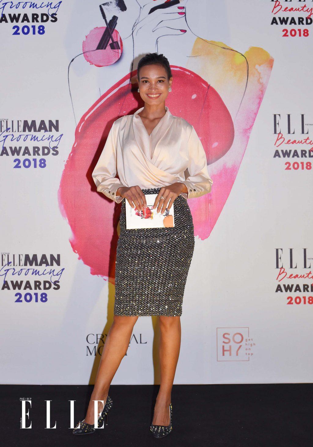 ELLE Beauty Awards 2018 trang điểm ấn tượng 8