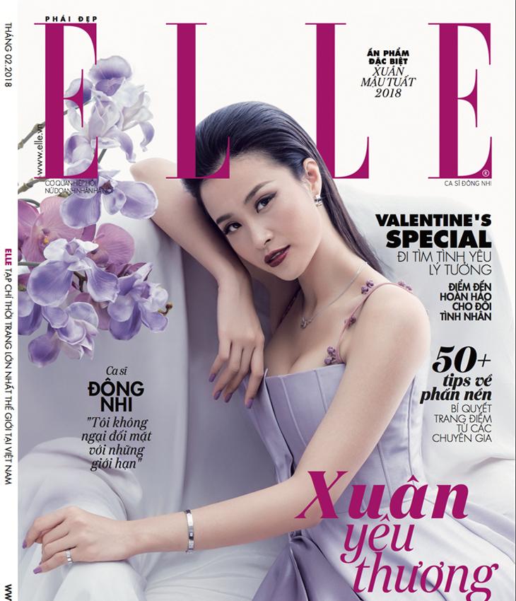 ELLE tháng 2/2018 - Xuân Yêu Thương