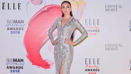 ELLE Beauty Awards 2018: Á hậu Mâu Thủy hút hồn với phong cách trang điểm