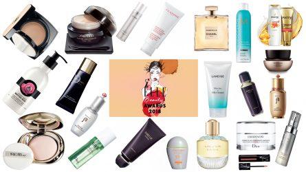 ELLE Beauty Awards 2018: Các sản phẩm làm đẹp tốt nhất năm