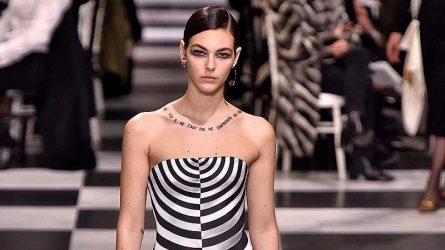 Sau áo thun thông điệp nữ quyền, Dior lại lăng xê hình xăm slogan truyền cảm hứng