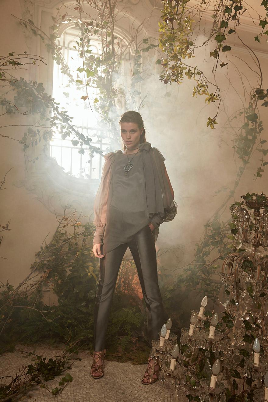 BST thời trang Alberta Ferretti Couture Xuân-Hè 2018: Nàng thơ bước ra từ thần thoại