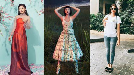 Sao Việt mặc gì tuần qua: Minh Tú gợi cảm với phong cách thể thao, Hà Tăng, Mỹ Tâm diện đồ thanh lịch