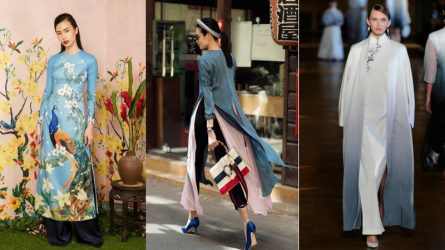 Mẫu áo dài đẹp nào sẽ phù hợp với bạn nhất trong dịp Tết?