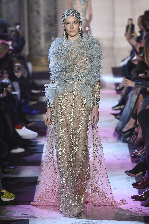 BST thời trang Elie Saab Couture Spring 2018: Giấc mộng mùa xuân xa hoa 1