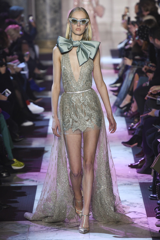 BST thời trang Elie Saab Couture Spring 2018: Giấc mộng mùa xuân xa hoa 13
