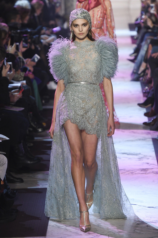 BST thời trang Elie Saab Couture Spring 2018: Giấc mộng mùa xuân xa hoa 14