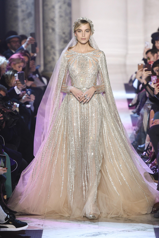BST thời trang Elie Saab Couture Spring 2018: Giấc mộng mùa xuân xa hoa 10