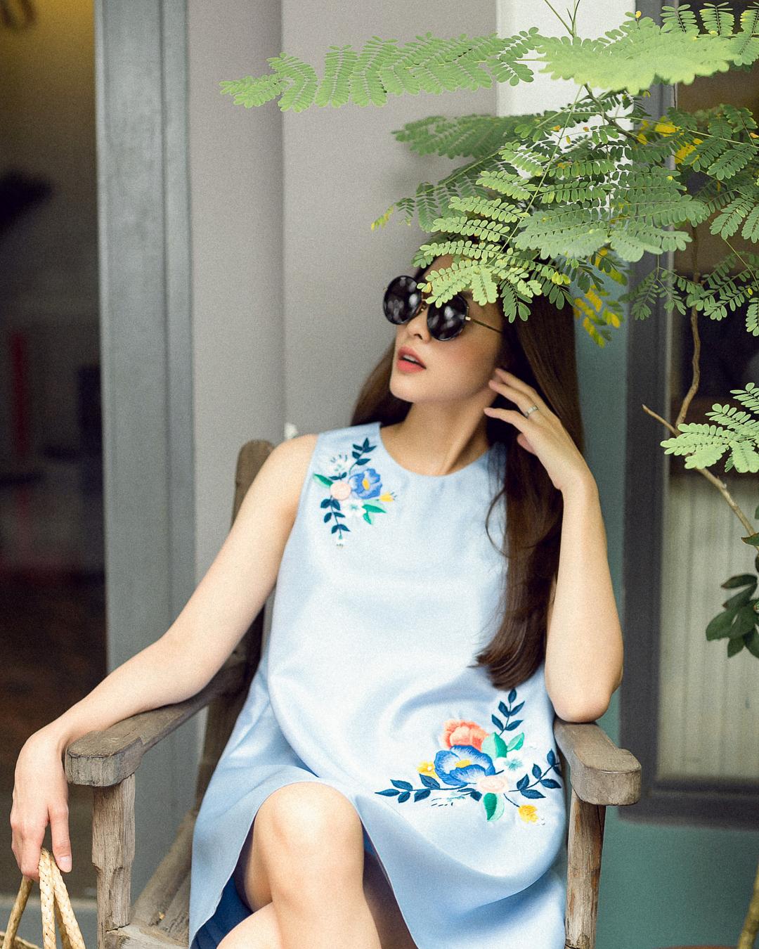Tuần vừa rồi, sao Việt mặc gì: Tăng Thanh Hà