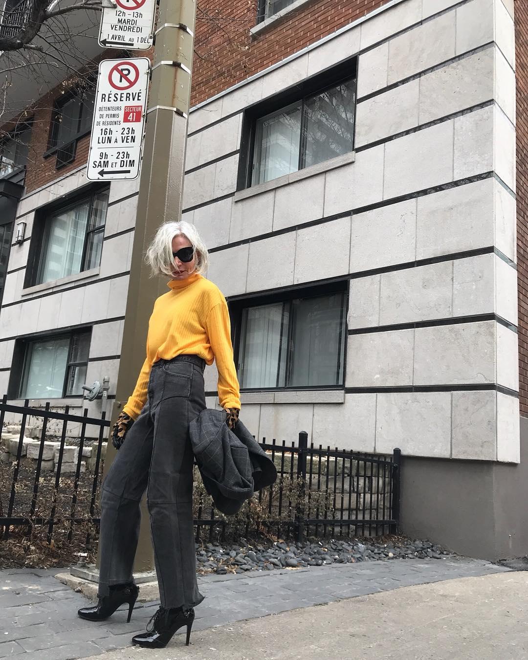 thời trang bất chấp tuổi tác của cụ bà tuổi 52 1