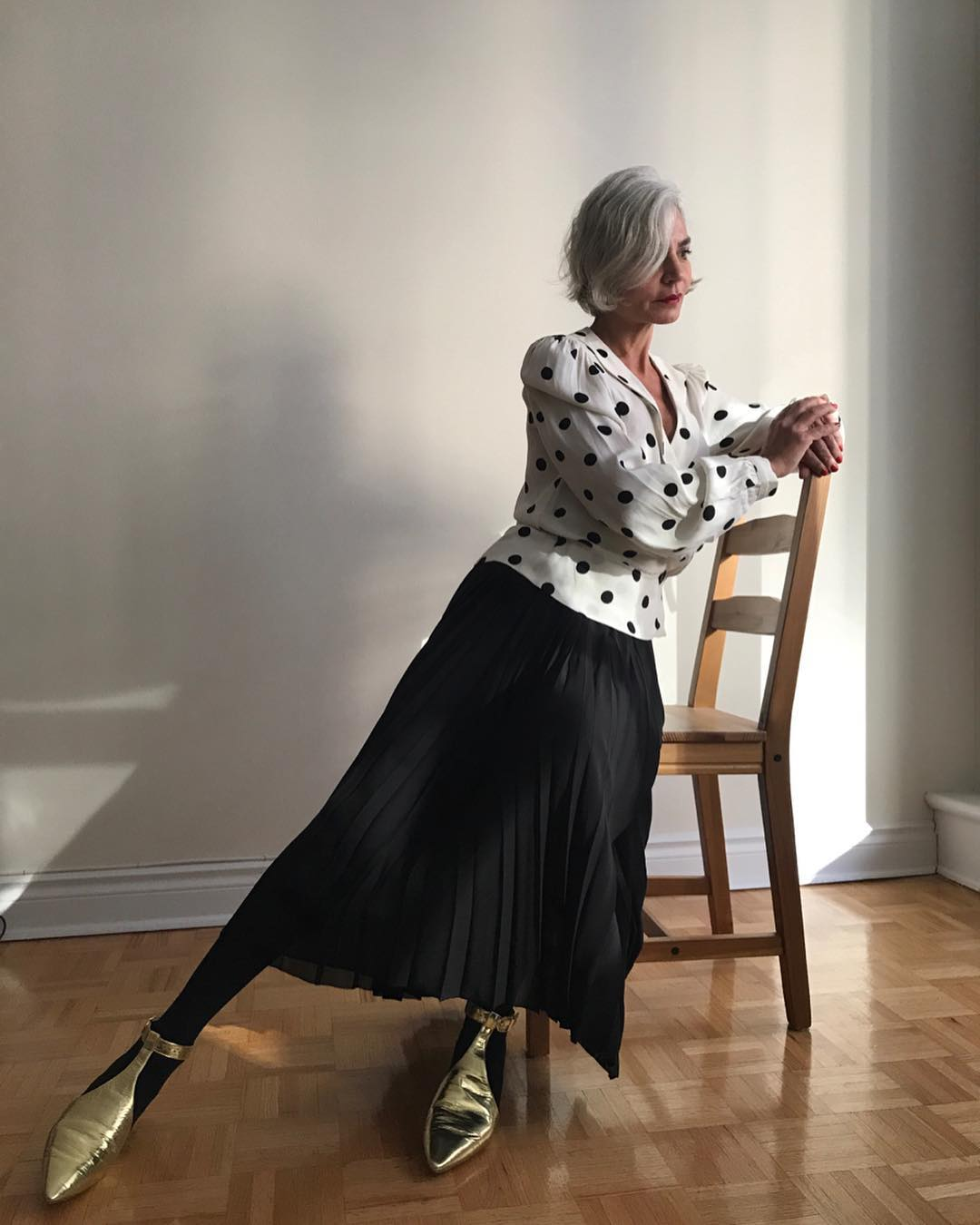 thời trang bất chấp tuổi tác của cụ bà tuổi 52 13
