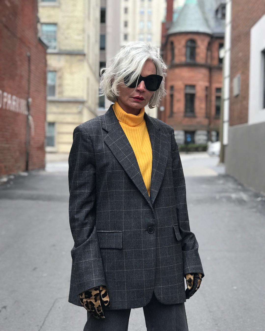 thời trang bất chấp tuổi tác của cụ bà tuổi 52 8