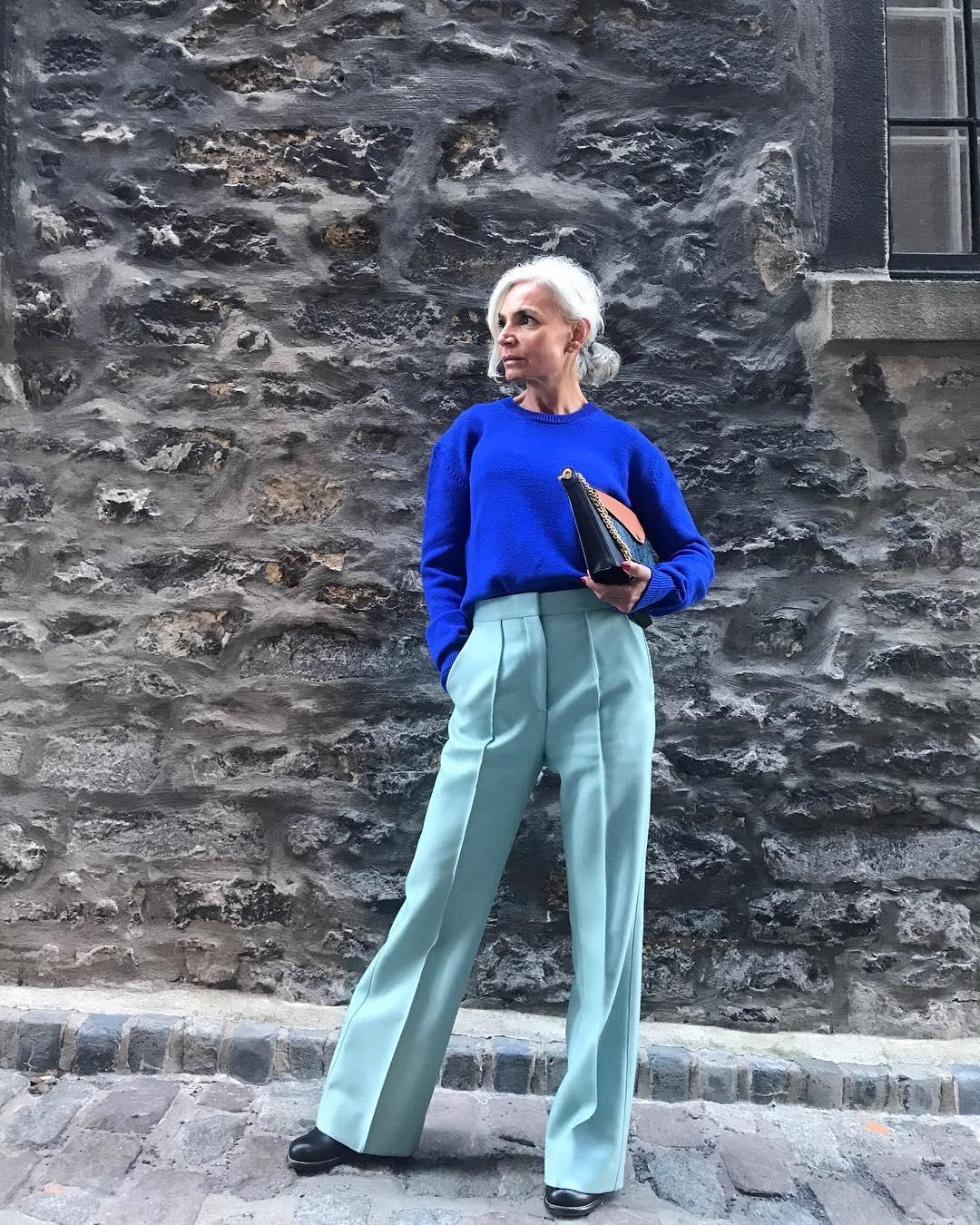 thời trang bất chấp tuổi tác của cụ bà tuổi 52 10