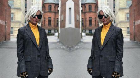 Ngưỡng mộ phong cách thời trang bất chấp tuổi tác của fashionista 52 tuổi