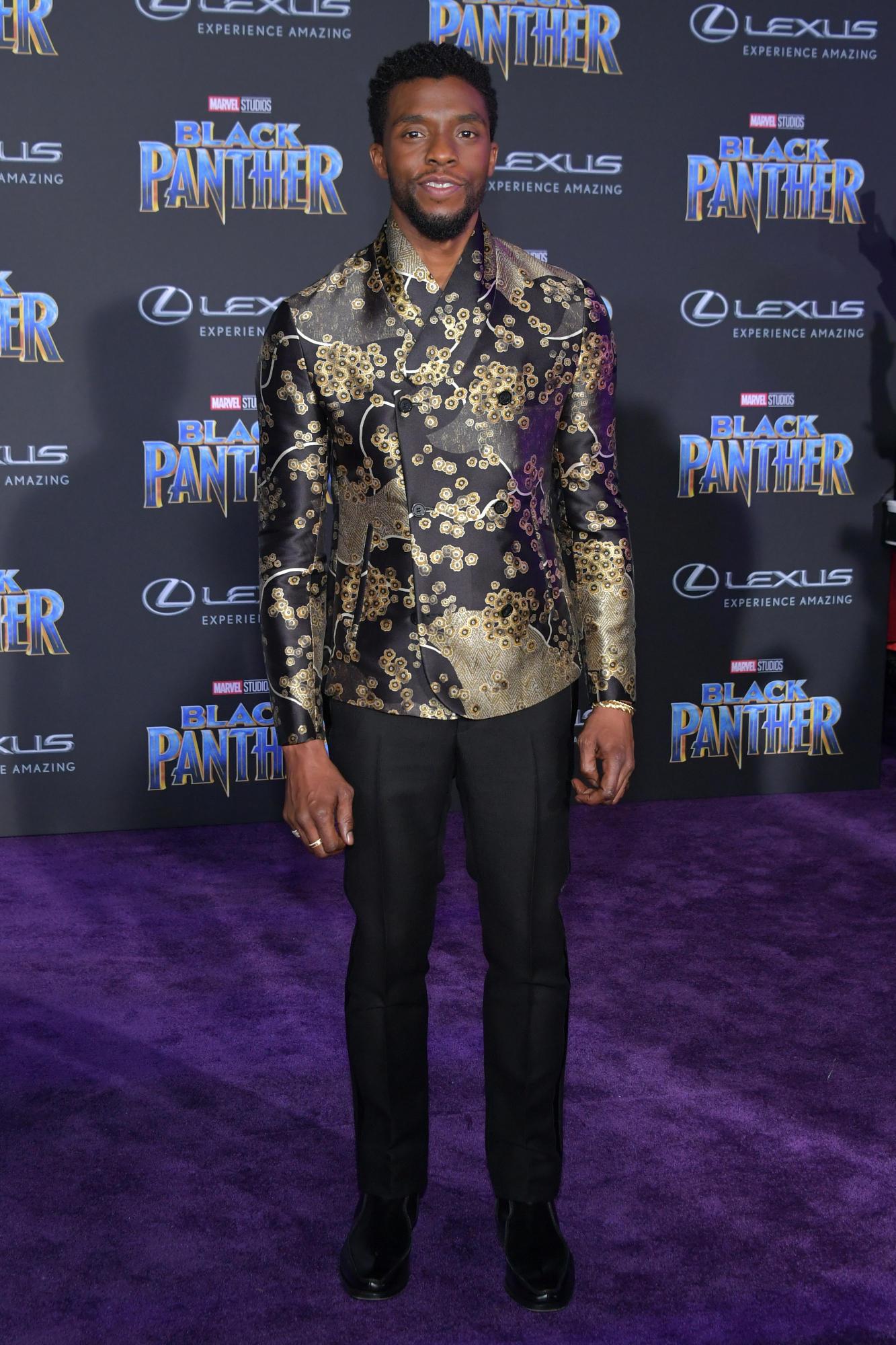 """Sao Black Panther trang phục """"quý tộc"""" tại buổi công chiếu phim 1"""