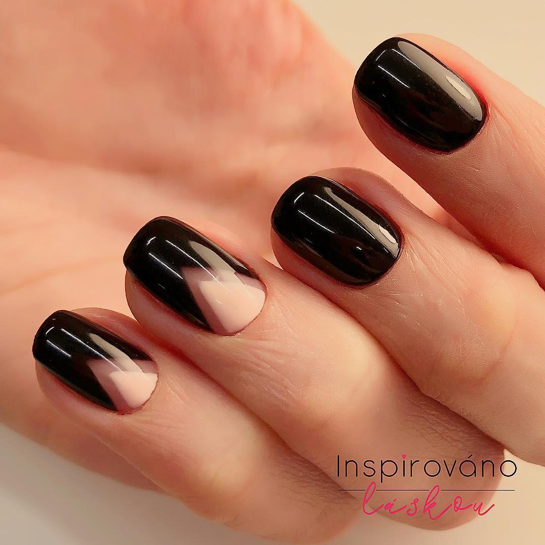 màu sơn móng tay đen thanh lịch 14