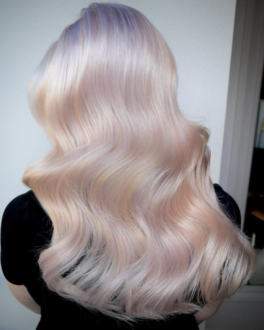 màu nhuộm tóc đẹp opal 2
