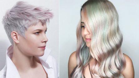 Màu nhuộm tóc đẹp như ảo ảnh mang tên Opal Hair