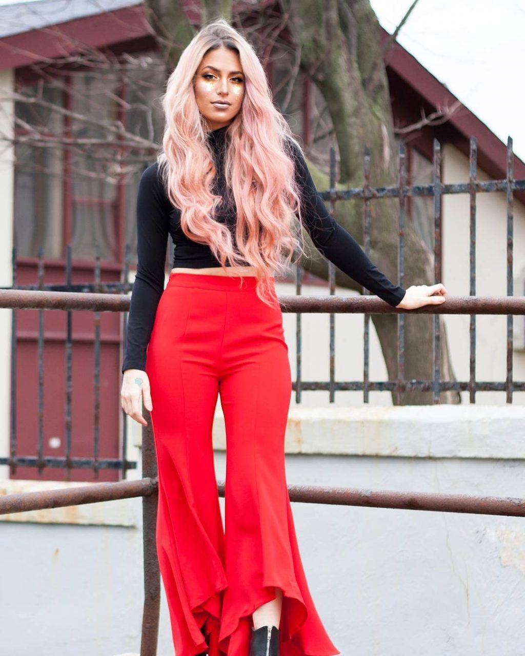 màu nhuộm tóc đẹp pinky hair 1