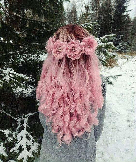 màu nhuộm tóc đẹp pinky hair 10