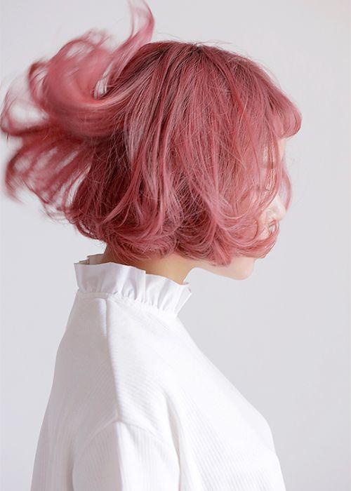 màu nhuộm tóc đẹp Pinky Hair 11