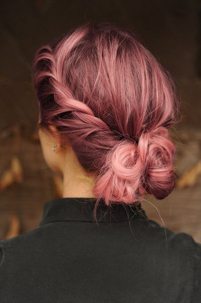 màu nhuộm tóc đẹp pinky hair 13