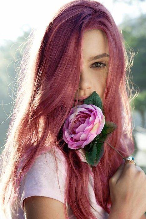 màu nhuộm tóc đẹp pinky hair 15