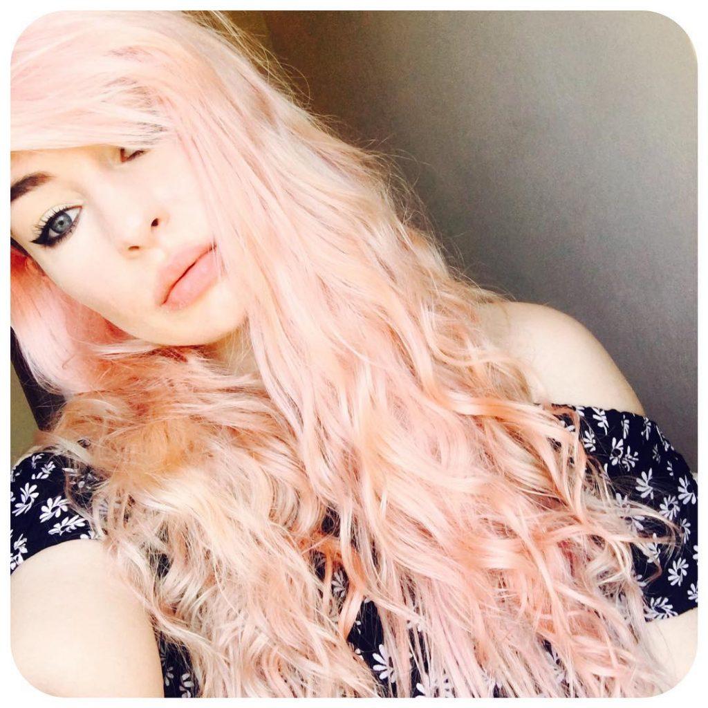 màu nhuộm tóc đẹp pinky hair 2