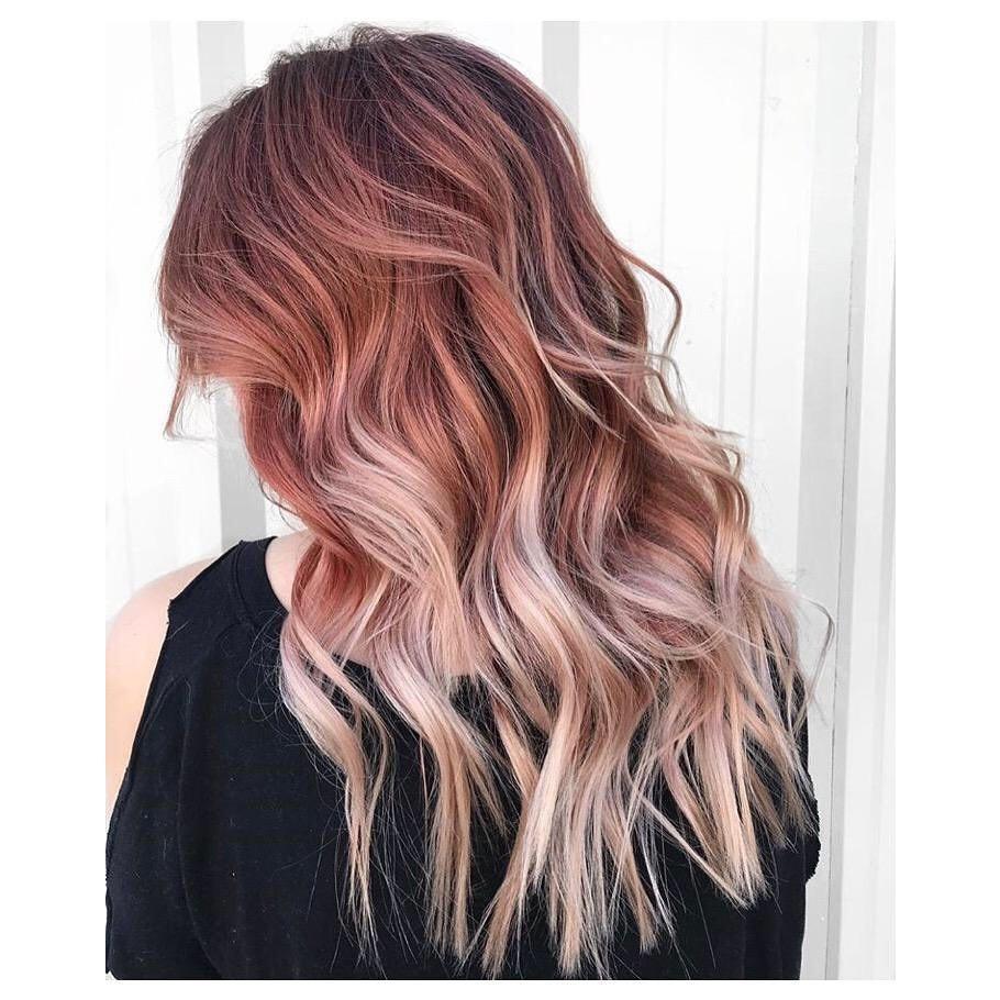màu nhuộm tóc đẹp pinky hair 3