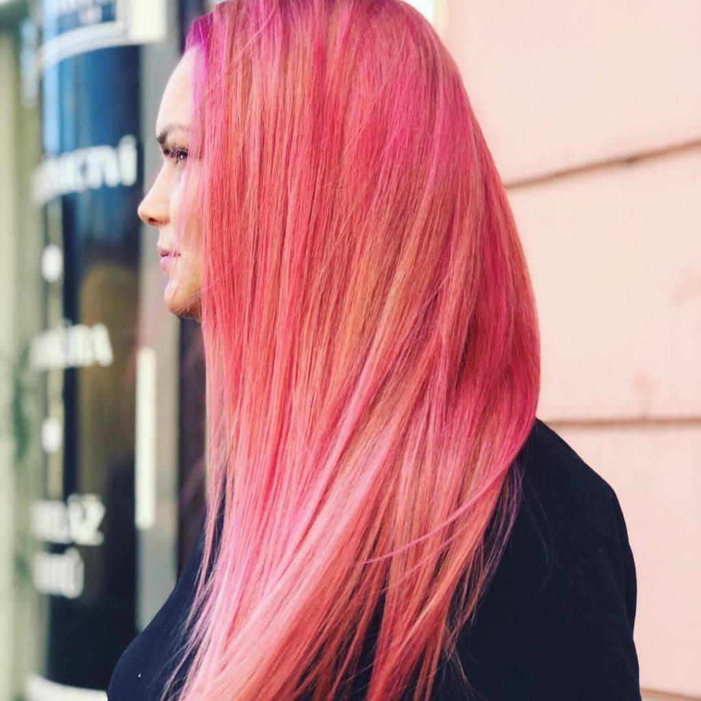 NHUỘM TÓC MÀU HỒNG PINKY HAIR: ĐỊA CHỈ CHUYÊN NHUỘM CÁC TÔNG MÀU NÀY
