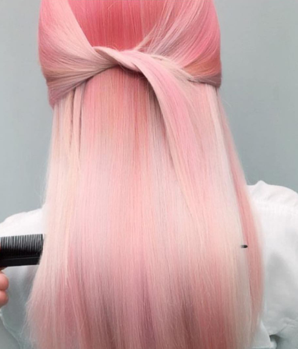 màu nhuộm tóc đẹp pinky hair 7