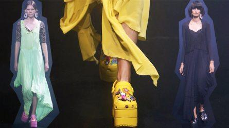 Những đôi giày Crocs độc lạ của thương hiệu Balenciaga