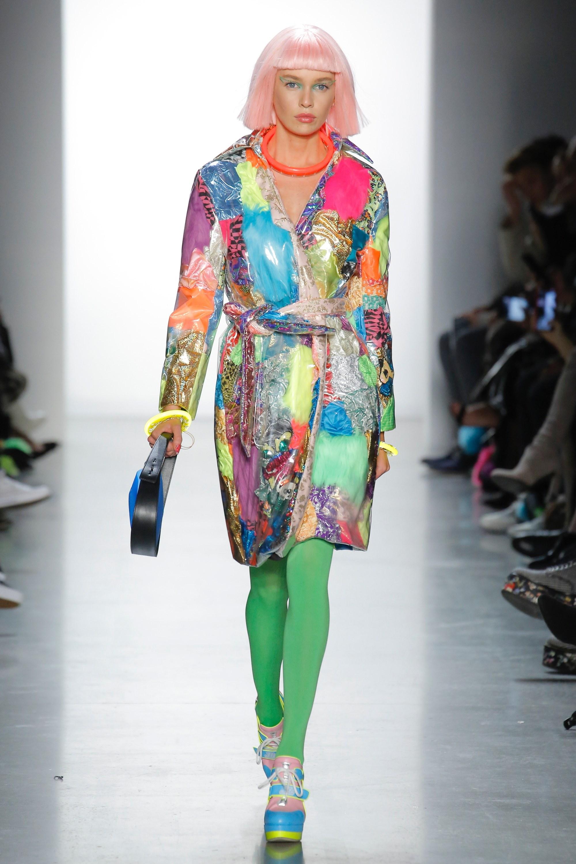 Thương hiệu Jeremy Scott Ready-to-wear Thu-Đông 2018: Rực rỡ sắc màu viễn tưởng 5