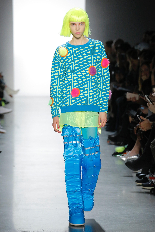 Thương hiệu Jeremy Scott Ready-to-wear Thu-Đông 2018: Rực rỡ sắc màu viễn tưởng 9