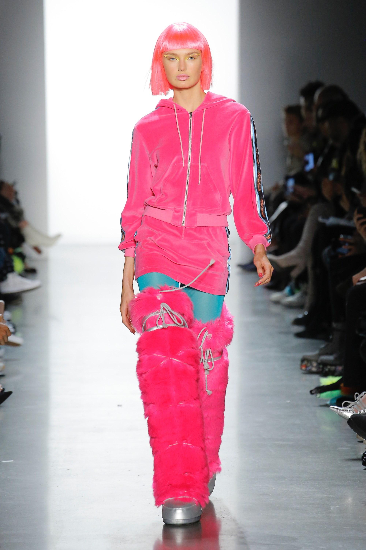 Thương hiệu Jeremy Scott Ready-to-wear Thu-Đông 2018: Rực rỡ sắc màu viễn tưởng