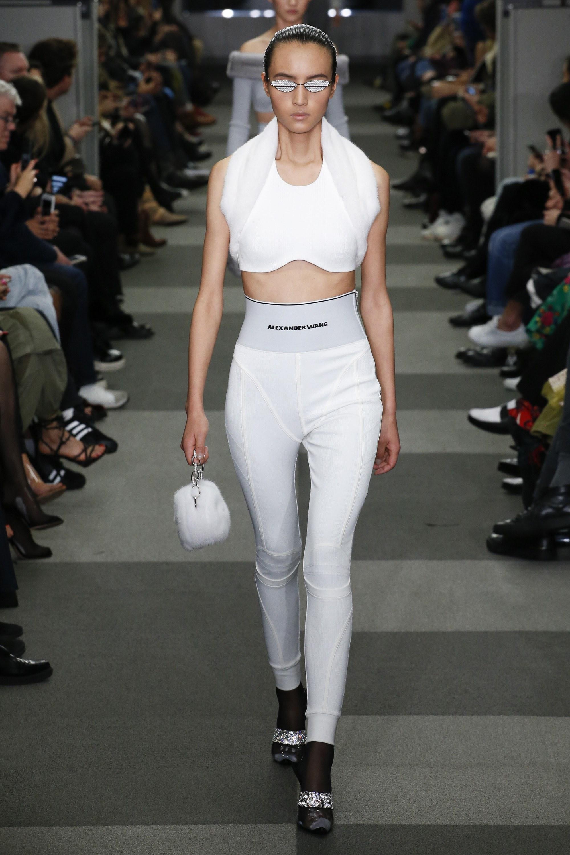 thương hiệu Alexander Wang tại Tuần lễ thời trang New York 2018