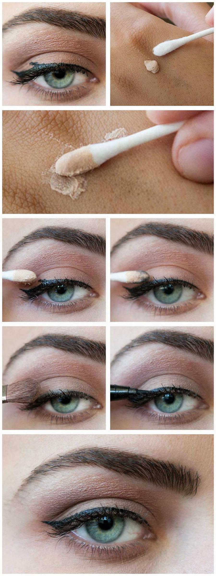 cách kẻ mắt đơn giản 9