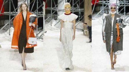 Calvin Klein Thu - Đông 2018: Raf Simons với nước Mỹ của khoa học viễn tưởng