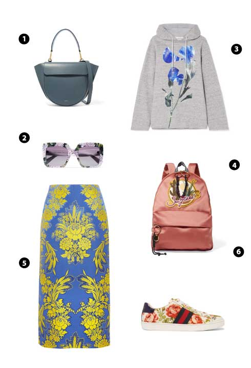 WANDLER/ DOLCE & GABBANA/ GOLDEN GOOSE DELUXE BRAND/ SEE BY CHLOÉ/ GUCCI/ GUCCI FOR NET-A-PORTER