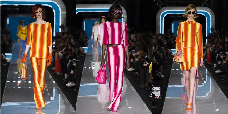 ELLE Việt Nam - Moschino nhân bản Jackie Kennedy tại sân khấu runway Milan Fashion Week 2018 (10)