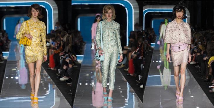 ELLE Việt Nam - Moschino nhân bản Jackie Kennedy tại sân khấu runway Milan Fashion Week 2018 (11)