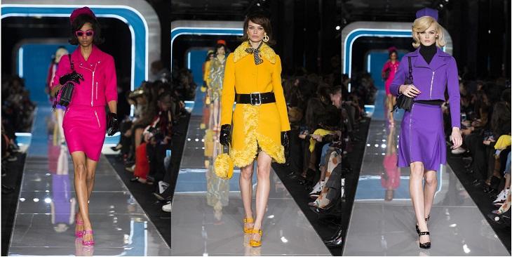 ELLE Việt Nam - Moschino nhân bản Jackie Kennedy tại sân khấu runway Milan Fashion Week 2018 (12)