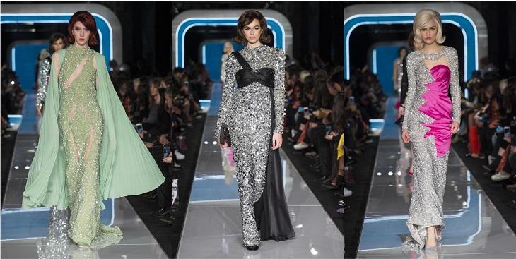 ELLE Việt Nam - Moschino nhân bản Jackie Kennedy tại sân khấu runway Milan Fashion Week 2018 (13)