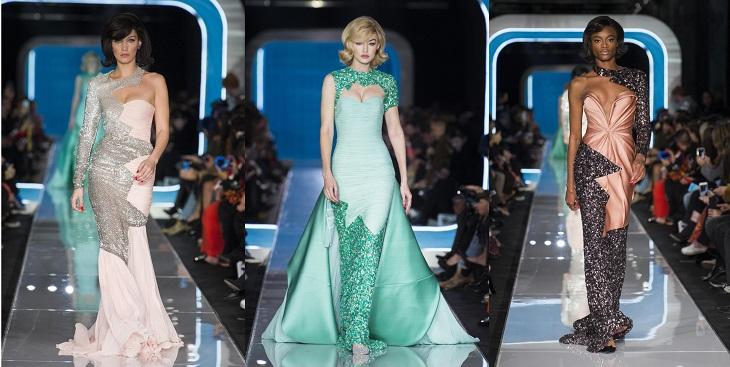 ELLE Việt Nam - Moschino nhân bản Jackie Kennedy tại sân khấu runway Milan Fashion Week 2018 (14)
