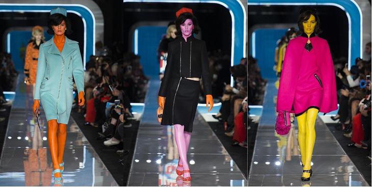 ELLE Việt Nam - Moschino nhân bản Jackie Kennedy tại sân khấu runway Milan Fashion Week 2018 (15)
