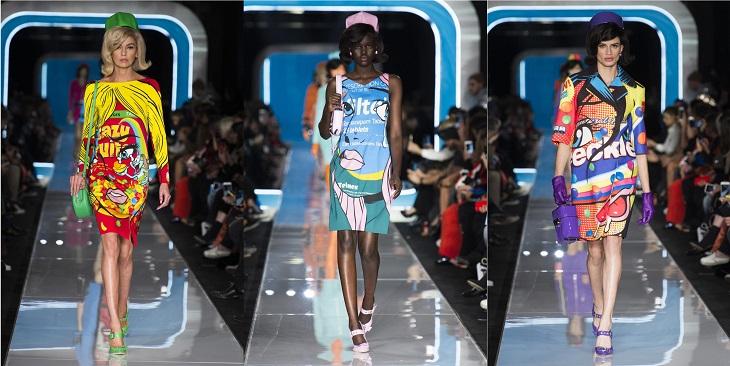 ELLE Việt Nam - Moschino nhân bản Jackie Kennedy tại sân khấu runway Milan Fashion Week 2018 (9)