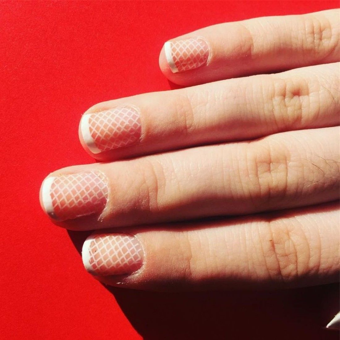 mẫu sơn móng tay đẹp kiểu Pháp 8