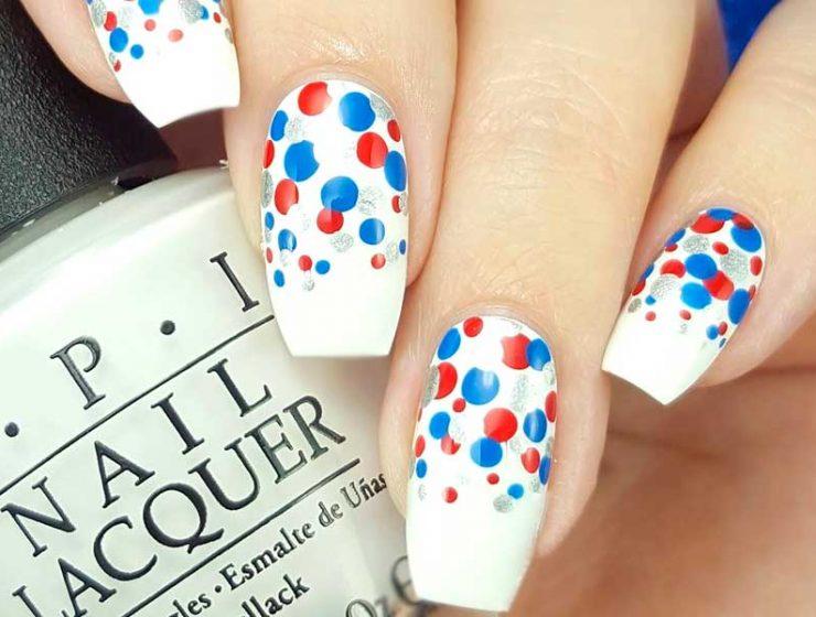 mẫu sơn móng tay đẹp kiểu Pháp 16