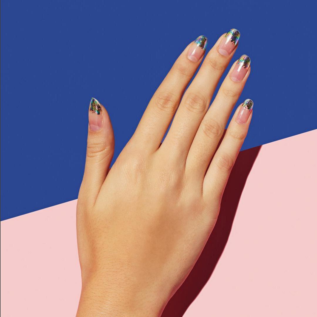mẫu sơn móng tay đẹp kiểu Pháp 17